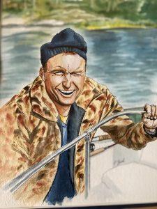 Painting of Bob