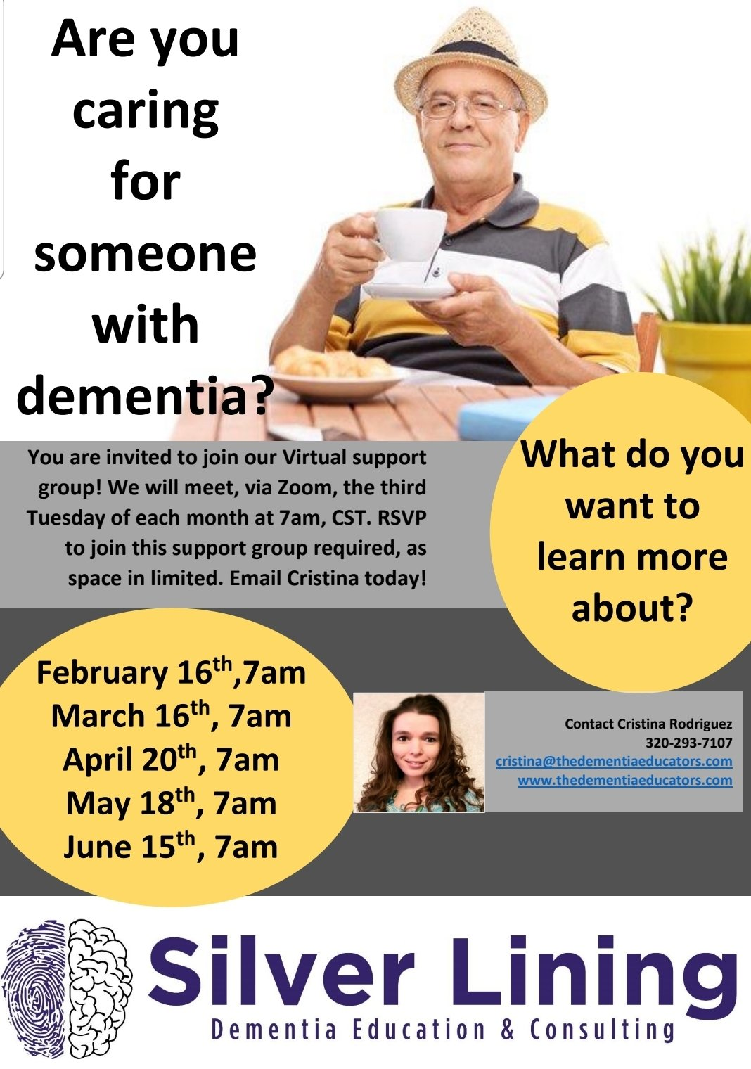 Silver Lining Dementia Education & Counseling