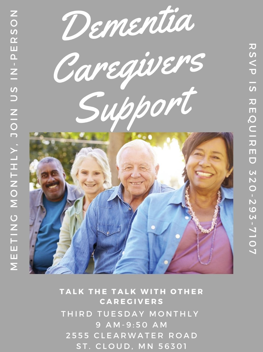 Caregiver Support Group by Silver Lining Dementia